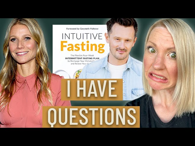 Why Gwyneth Paltrow's 'INTUITIVE FASTING' is DANGEROUS (And I Have to Call Her Out...!)
