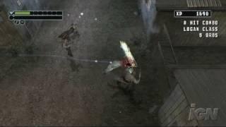 X-Men Origins: Wolverine Nintendo Wii Gameplay - Just Die