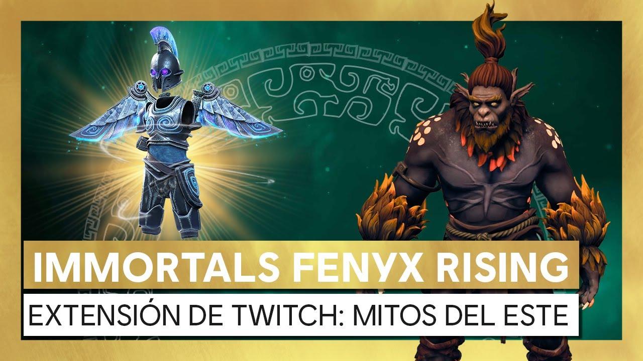 Immortals Fenyx Rising - Extensión de Twitch Caza de Monstruos: Mitos del Este.