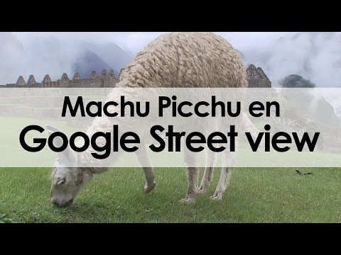 Así capturaron Machu Picchu para Google Street View