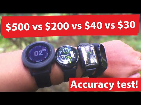 Cheap Smart watch Vs. Expensive Smart watch Step Counter Accuracy Test!