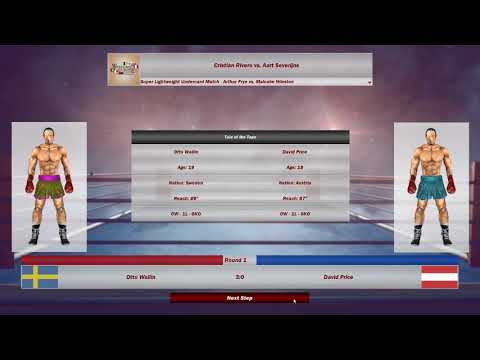 World Boxing Manager:Road To Undisputed episode 3