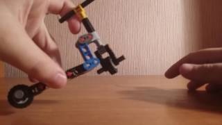 Лего фингер самокат трюки и сборка