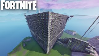 PLUS GRAND - PLUS DIFFICILE PARCOURS D'OBSTACLES LABYRINTHE DANS FORTNITE CREATIVE (FR) LE CUBE V3 (CODES EN DESCRIPTION)