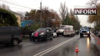 Авария под Одессой: Грузовик vs. свадебный кортеж