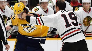NHL Captain Fights