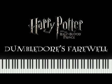 Harry Potter 6 - Dumbledore's Farewell (Synthesia Piano) mp3