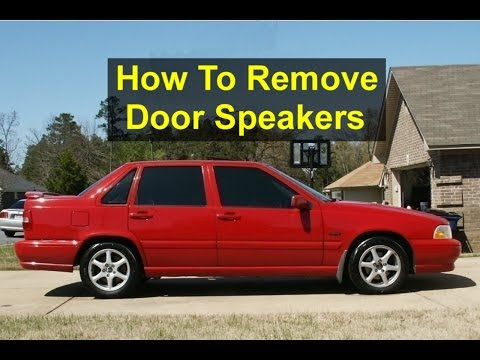 How to remove or replace a car door speaker in the Volvo S70, V70, etc. – VOTD