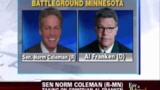2008 Senate Races with Elizabeth Dole, Norm Coleman, Ted Stevens and more