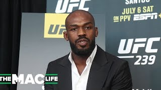 "Jon Jones labels ""hater"" Georges St-Pierre, Anderson Silva & Jose Aldo as his greatest ever"
