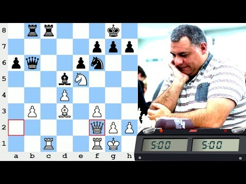 LIVE Blitz (Speed) Chess Game: vs International Master skooldaze (2407)