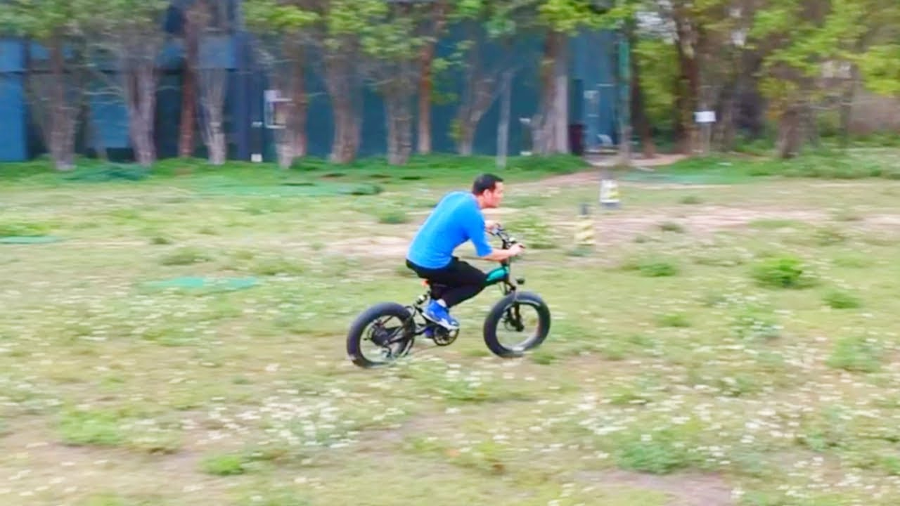 Fiido M1 Fat Tire E Bike Review Stupidly Fun And Powerful Youtube