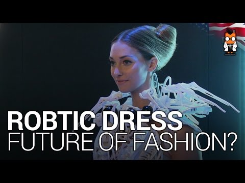 Robotic Dresses Running on Intel's Edison - The Future of Fashion?