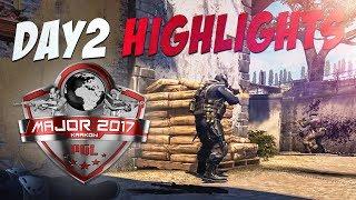 CS:GO - PGL Krakow 2017 Highlights: Day 2
