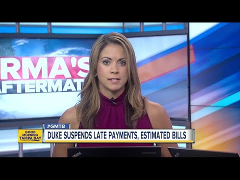 Duke Energy suspends late payment charges, estimated bills, disconnections during Irma recovery
