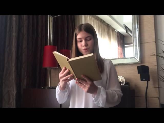 Изображение предпросмотра прочтения – ЯнаЯворская читает произведение «Сонет № 130. Ее глаза на звезды не похожи…» У.Шекспира