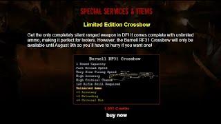 Dead Frontier: Barnell RF31 Crossbow Released!