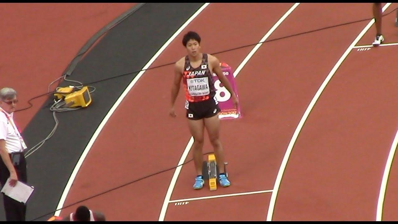 北川貴理6着47秒35 / 2017世界陸...