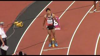 北川貴理6着47秒35 / 2017世界陸上ロンドン大会 男子400m予選6組