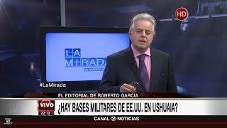 """Comentario editorial de Roberto García en su programa """"La mirada"""" - 10/04/17"""