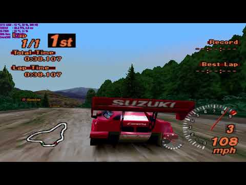 "Gran Turismo 2 Walkthrough Part 102 - ""Rally Events: Smokey Mountain North #3"""