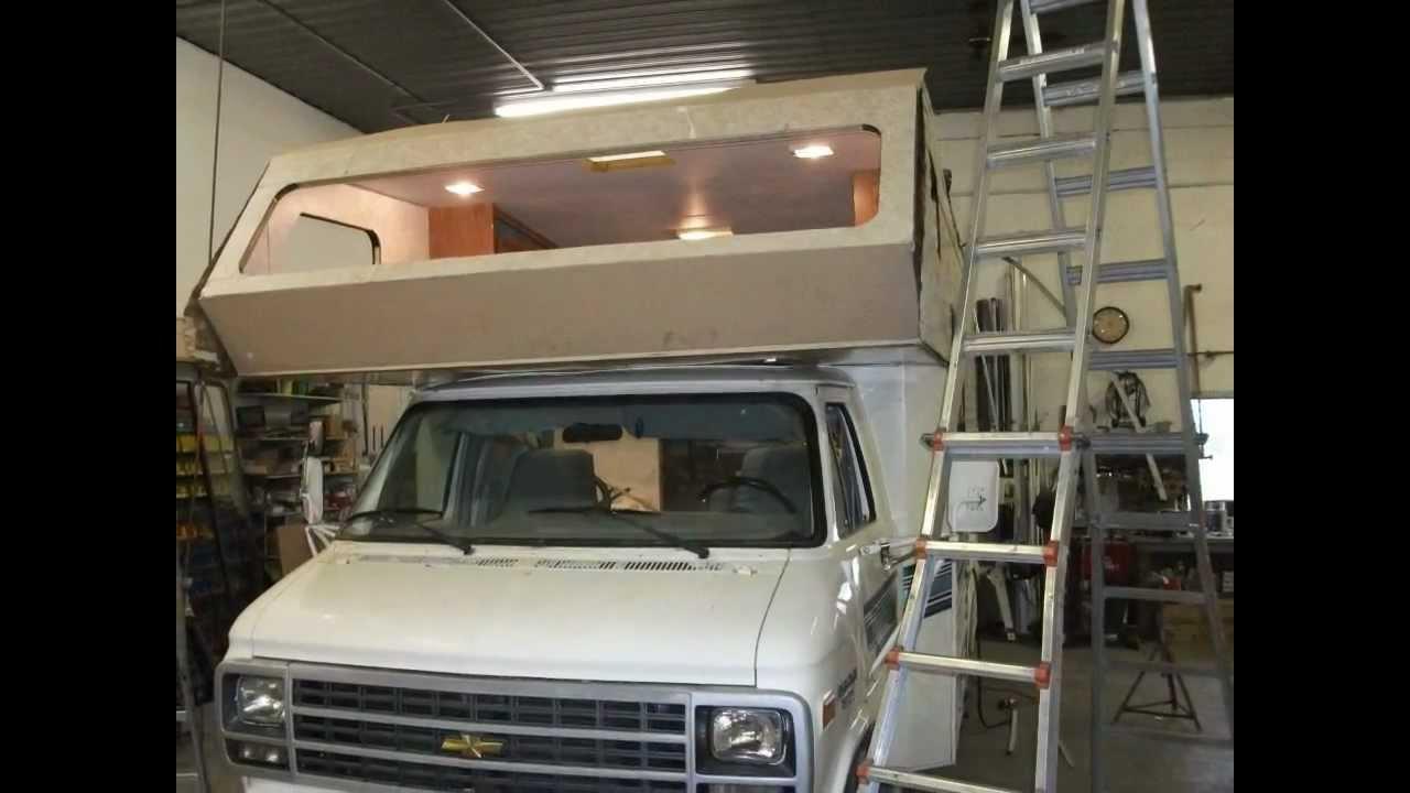 Mini Motor Home Rebuild and Reroof  YouTube