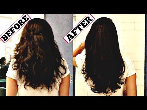 Hair Botox Treatment For Super Damaged Hairfall Repair Youtube