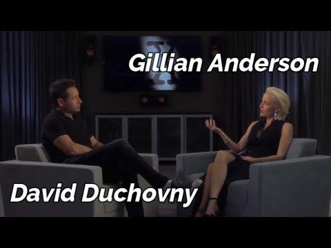 Gillian Anderson & David Duchovny Conversation  2018 DVD Extra