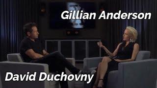 Gillian Anderson & David Duchovny Conversation - 2018 DVD Extra