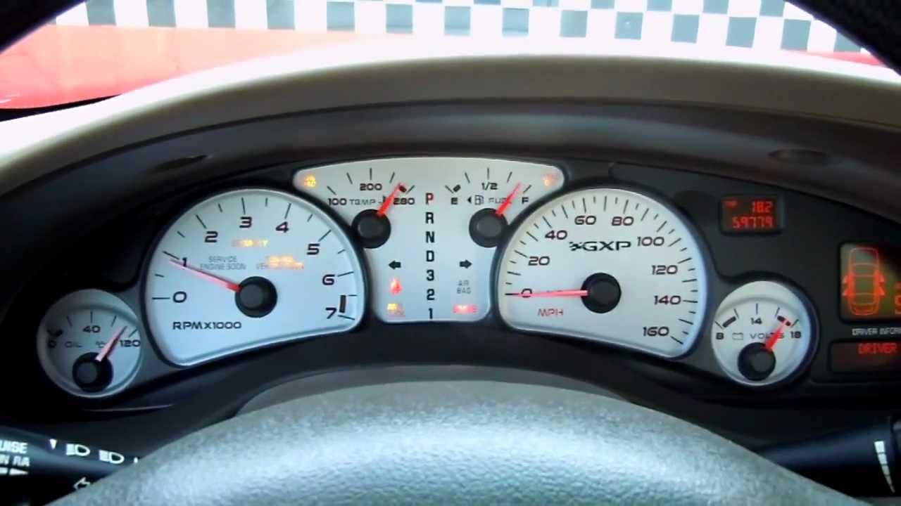 2005 Pontiac Bonneville Gxp 59 700 Miles Gxp 112 Mov Youtube
