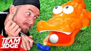 Extreme Gator Golf Challenge!!