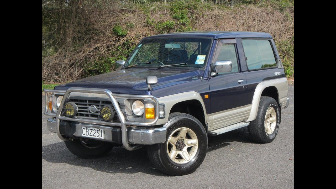 nissan safari spirit