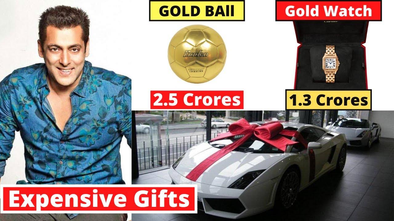 Salman Khan's 10 Most Expensive Eid Gifts From Bollywood Stars - #HappyEid
