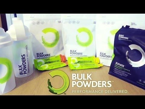 Unboxing Bulk Powders italia/Ita !!! Burro arachidi, sciroppo 0 calorie, integratori. Review.