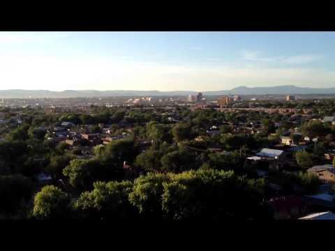 Balloon adventure over Albuquerque over houses #11