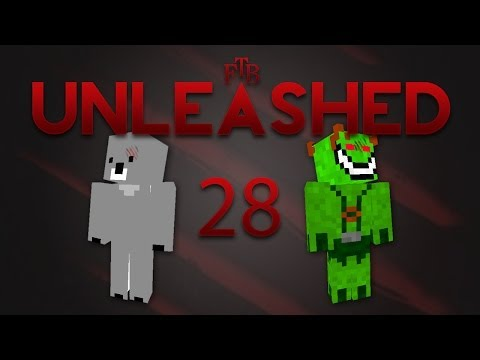 Gameplay: FTB Unleashed - Med Birk [Episode 28] Ja tak, Blazefarm