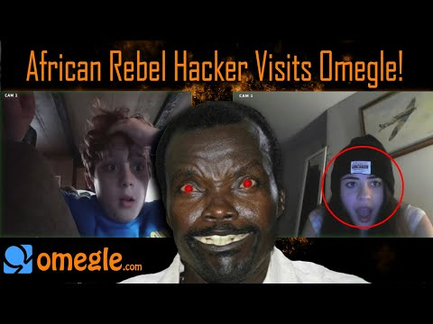 African Rebel Hacker Visits Omegle! (Hacking into omegle calls)