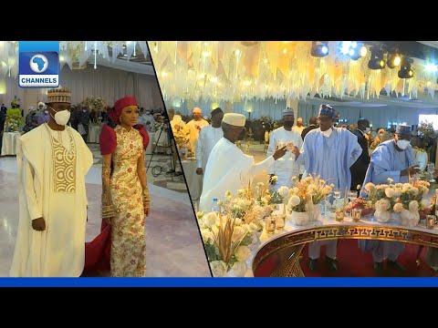 Highlights Of President Buhari's Son Wedding