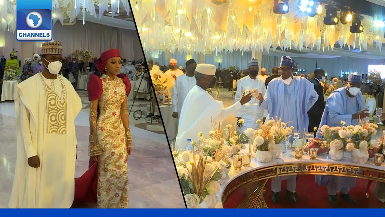 Download Highlights Of President Buhari's Son Wedding