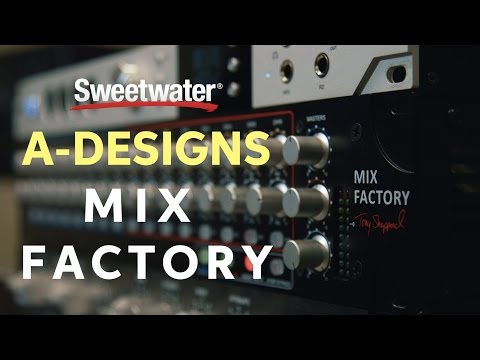 A Designs Mix Factory 16-channel Summing Mixer Demo