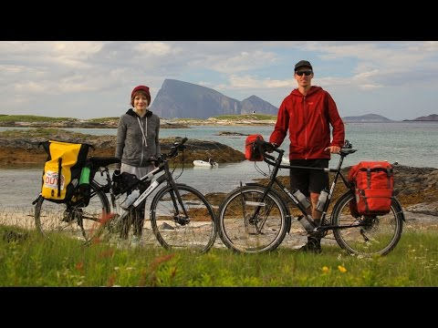 First Day of the Arctic Coast Cycling Tour - EP. #126