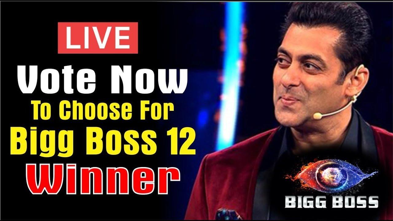 """BIGG BOSS 12"" LATEST NEWS | LIVE VOTING | VOTING TREND | FINALE EPISODE |  BIGG BOSS 12 WINNER"