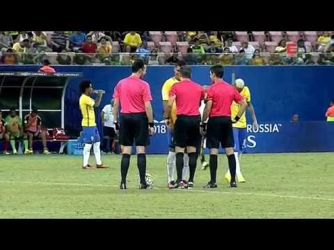 Casemiro x Colombia ● (HD) 720p ● Eliminatórias da Copa do Mundo 2018 ●