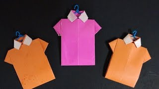 Tutorial-  How to fold an Origami Shirt