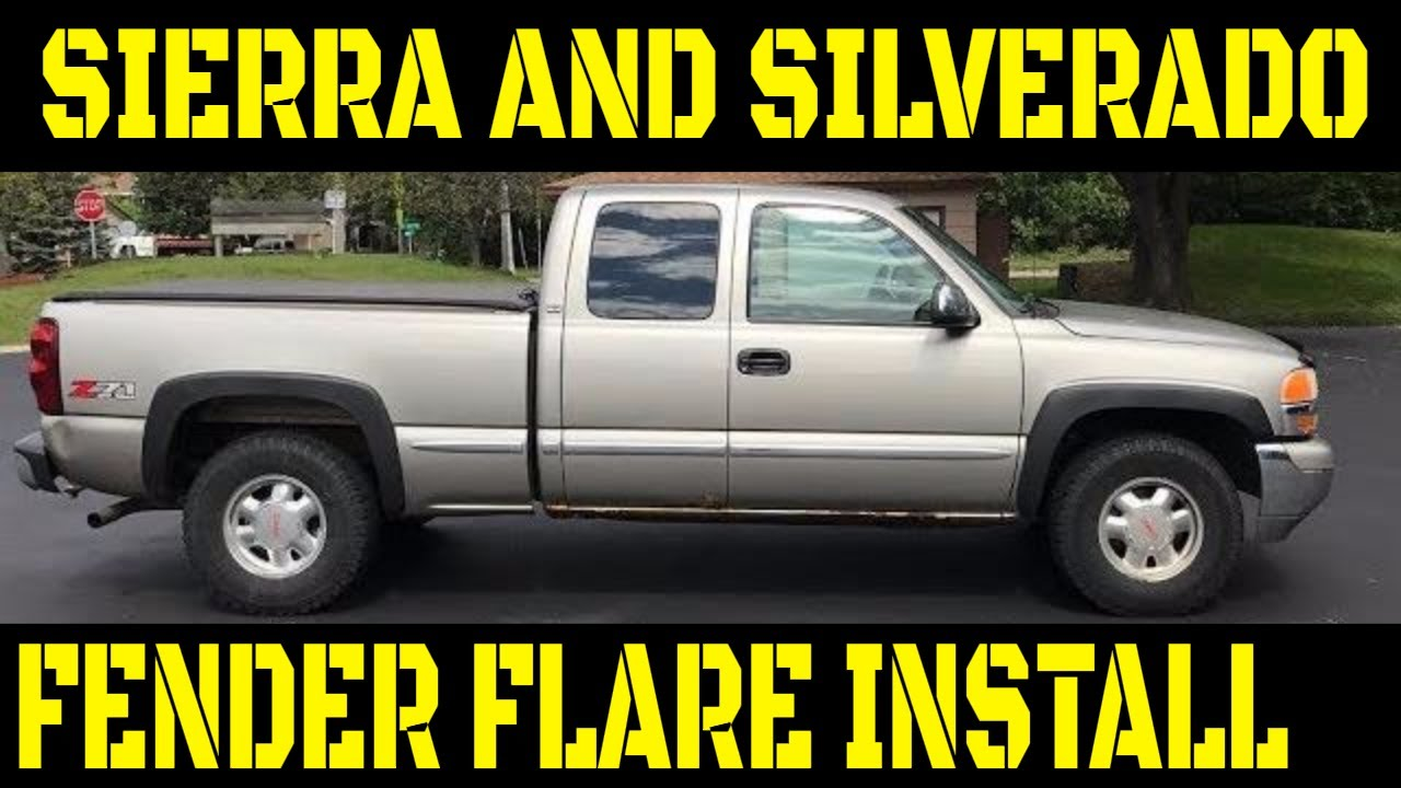 Silverado 2003 chevy silverado fender flares : 99-'07 Chevy Silverado/GMC Sierra OEM Style Fender Flare ...