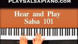 Salsa Piano By Ear Keyboard Lesson Sample of Jeff's Playing