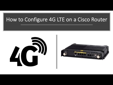 Cisco 4G LTE Router Configuration How To