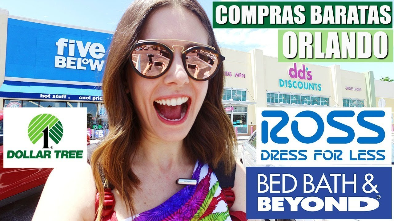 7c2dbe4cd COMPRAS BARATAS em ORLANDO | DOLLAR Tree, ROSS, Five BELOW, DD Discounts...  Int. Value Center