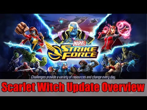 Scarlet Witch Update Overview (1.4) - Marvel Strike Force