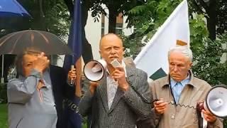 Ž.Razmino kalba mitinge Šiauliuose ''STOP JAV-NATO-ES HIBRIDINEI OKUPACIJAI''(2016-06-17)